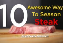 Ten awesome steak marinades