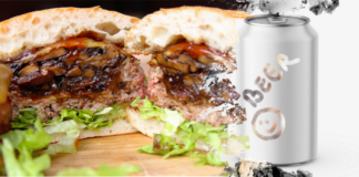 Burgers and beer in different contexts